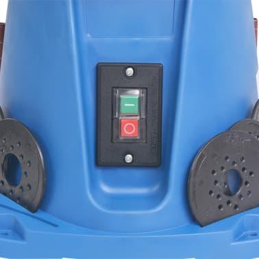 vidaXL Ponceuse à axe oscillant 450 W Bleu[7/8]