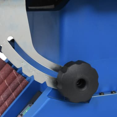 vidaXL Ponceuse à bande et à axe oscillant 450 W Bleu[6/8]