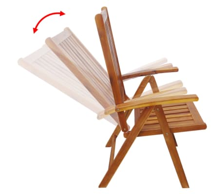 Acheter vidaxl ensemble de mobilier d 39 ext rieur 13 pcs bois d 39 acacia massif pas cher for Mobilier exterieur bois