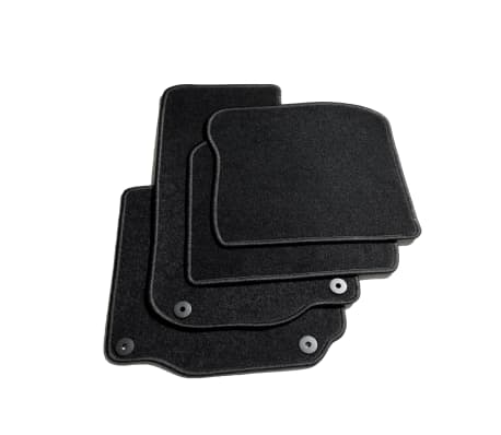 vidaXL Autofußmatten-Set 4-tlg. für VW Golf IV[2/6]