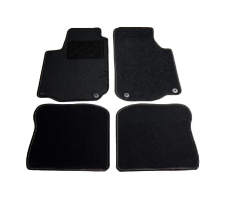 vidaXL Ensemble de tapis de voiture 4 pcs pour VW Golf IV[1/6]