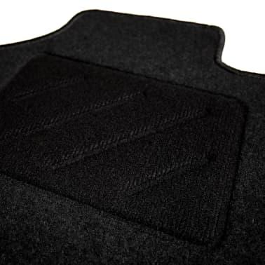 vidaXL Ensemble de tapis de voiture 4 pcs pour VW Passat[4/6]