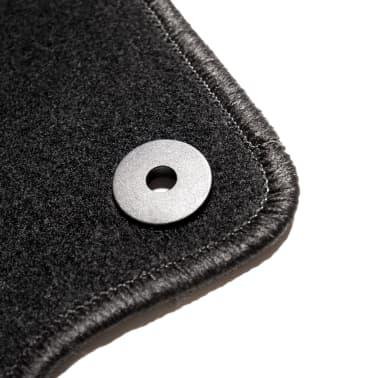 vidaXL Ensemble de tapis de voiture 4 pcs pour VW Golf 5/6 Scirocco[5/6]