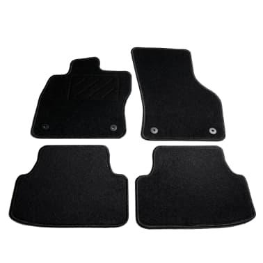 vidaXL Ensemble de tapis de voiture 4 pcs pour VW Golf 7[1/6]