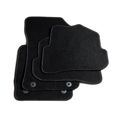 acheter vidaxl ensemble de tapis de voiture 4 pcs pour audi a1 pas cher. Black Bedroom Furniture Sets. Home Design Ideas