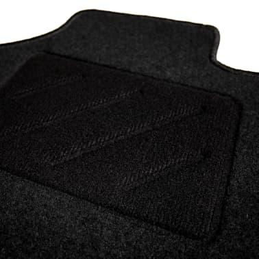 vidaXL Ensemble de tapis de voiture 4 pcs pour Audi A6[4/6]