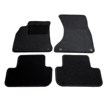 vidaXL Ensemble de tapis de voiture 4 pcs pour Audi A4[1/6]