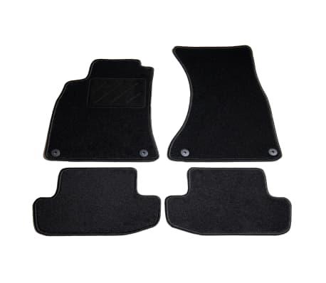 vidaXL Ensemble de tapis de voiture 4 pcs pour Audi A5/S5[1/6]