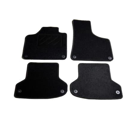 vidaXL Ensemble de tapis de voiture 4 pcs pour Audi A3[1/6]