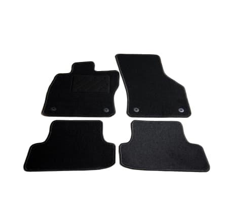 vidaXL Ensemble de tapis de voiture 4 pcs pour Audi A3
