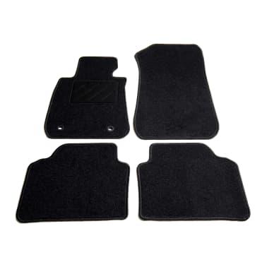 vidaXL Ensemble de tapis de voiture 4 pcs pour série 3 BMW E90/E91[1/6]