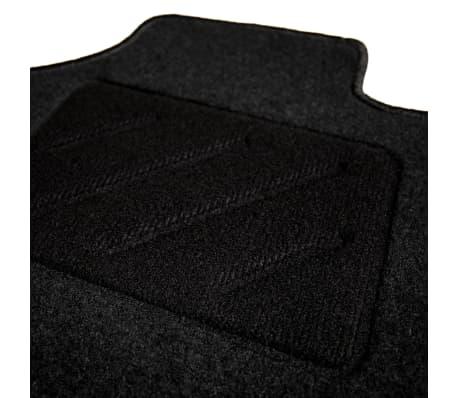 vidaXL Ensemble de tapis de voiture 4 pcs pour série 3 BMW E90/E91[4/6]