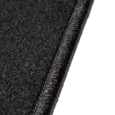 vidaXL Ensemble de tapis de voiture 4 pcs pour série 3 BMW E90/E91[6/6]