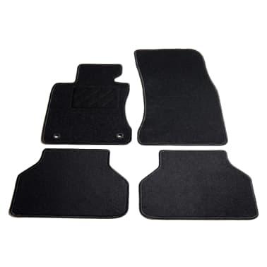 vidaXL Ensemble de tapis de voiture 4 pcs pour série 5 BMW E60/E61[1/6]