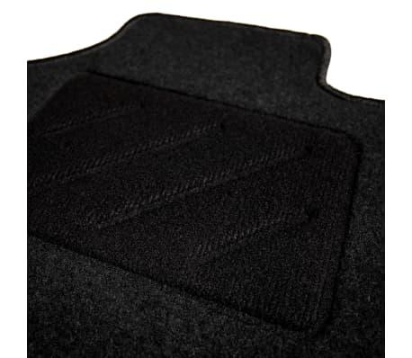 vidaXL Ensemble de tapis de voiture 4 pcs pour série 5 BMW E60/E61[4/6]