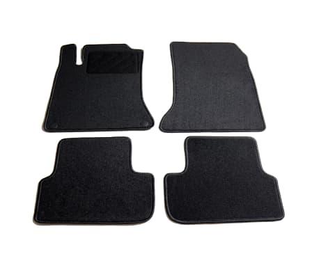 vidaXL Ensemble de tapis de voiture 4 pcs pour Mercedes W176 et W246[1/6]