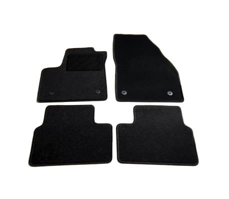 vidaXL Ensemble de tapis de voiture 4 pcs pour Opel Meriva B[1/6]