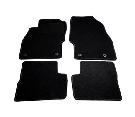vidaXL Ensemble de tapis de voiture 4 pcs pour Opel Corsa D[1/6]
