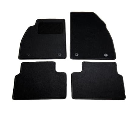 vidaXL Ensemble de tapis de voiture 4 pcs pour Opel Insignia