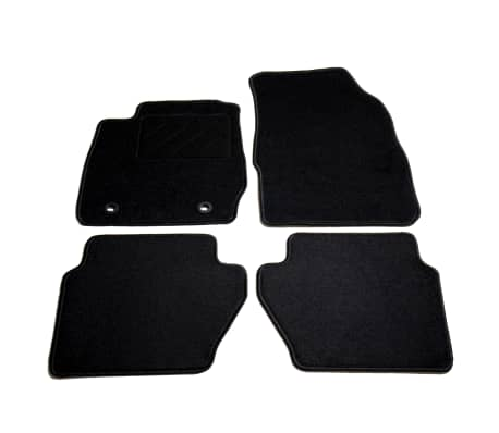 vidaXL Ensemble de tapis de voiture 4 pcs pour Ford Fiesta VI