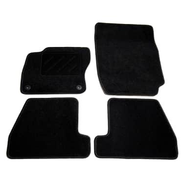 vidaXL Ensemble de tapis de voiture 4 pcs pour Ford Focus III[1/6]