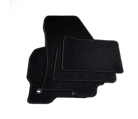vidaXL Ensemble de tapis de voiture 4 pcs pour Ford Mondeo III[2/6]
