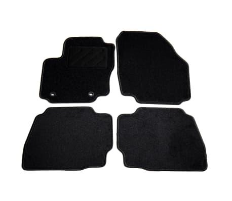 vidaXL Ensemble de tapis de voiture 4 pcs pour Ford Mondeo IV[1/6]