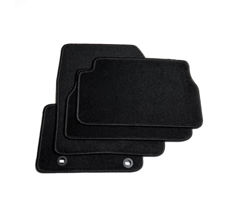 vidaxl autofu matten set 4 tlg f r ford kuga zum. Black Bedroom Furniture Sets. Home Design Ideas