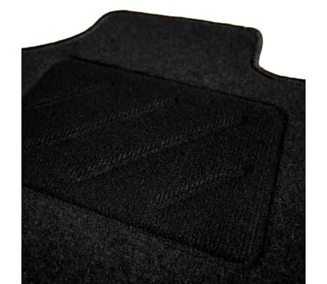 vidaXL Ensemble de tapis de voiture 4 pcs pour Skoda Octavia II[4/6]