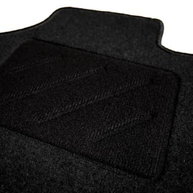 vidaXL Ensemble de tapis de voiture 4 pcs pour Skoda Octavia III[4/6]