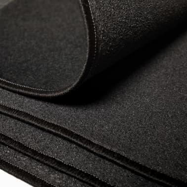 vidaXL Juego de alfombrillas de coche 4 piezas para Peugeot 207[3/6]