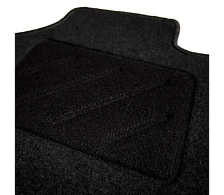 vidaxl ensemble de tapis de voiture 4 pcs pour peugeot 208. Black Bedroom Furniture Sets. Home Design Ideas