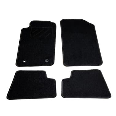 vidaXL Ensemble de tapis de voiture 4 pcs pour Peugeot 206 CC[1/6]
