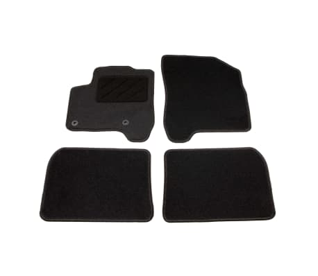 acheter vidaxl ensemble de tapis de voiture 4 pcs pour citroen c3 picasso pas cher. Black Bedroom Furniture Sets. Home Design Ideas
