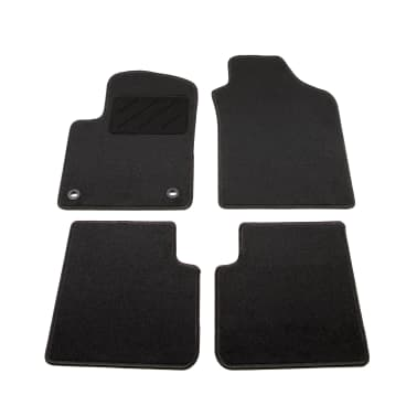 acheter vidaxl ensemble de tapis de voiture 4 pcs pour fiat 500 pas cher. Black Bedroom Furniture Sets. Home Design Ideas