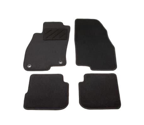 vidaXL Ensemble de tapis de voiture 4 pcs pour Fiat Punto Evo[1/6]