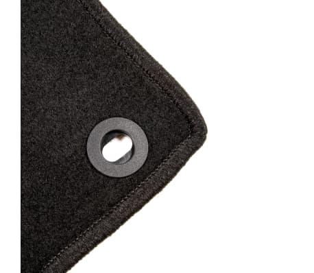 vidaXL Ensemble de tapis de voiture 4 pcs pour Fiat Punto Evo[5/6]
