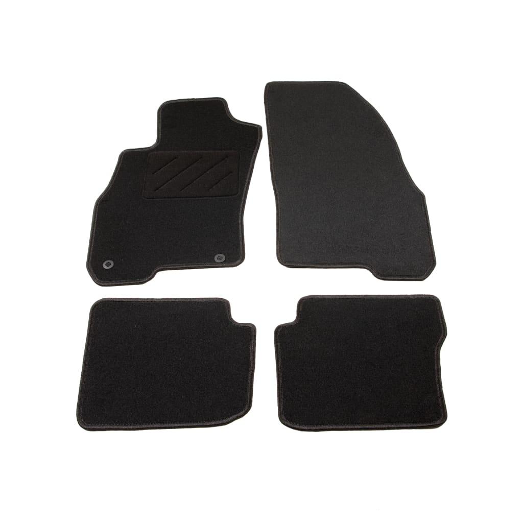 vidaXL 4dílná sada koberců do auta pro vozy Fiat Punto III