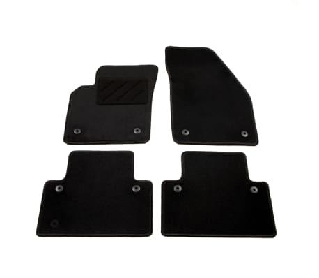 vidaXL Комплект от 4 стелки за кола за Volvo S40/V50/C70