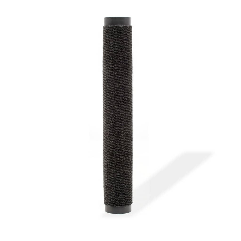 vidaXL Protiprachová obdélníková rohožka všívaná 40x60cm černá