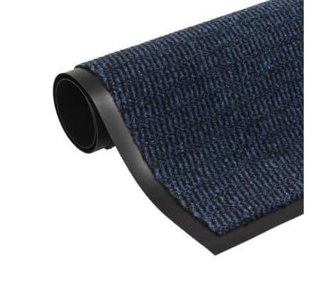 vidaXL Covor de ușă anti-praf, dreptunghiular, 40 x 60 cm, albastru[1/4]