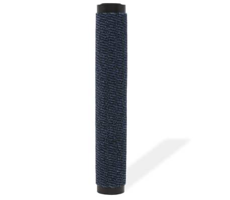 vidaXL Covor de ușă anti-praf, dreptunghiular, 40 x 60 cm, albastru[2/4]