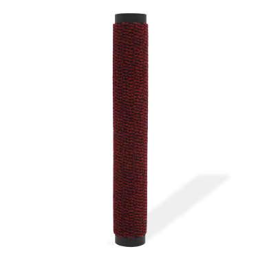 vidaXL Covor de ușă anti-praf, dreptunghiular, 60 x 90 cm, roșu[2/4]
