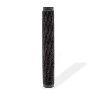 vidaXL Droogloopmat rechthoekig getuft 90x150 cm zwart[2/4]