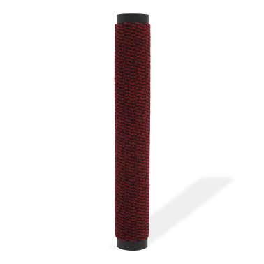vidaXL Covor de ușă anti-praf, dreptunghiular, 90 x 150 cm, roșu[2/4]