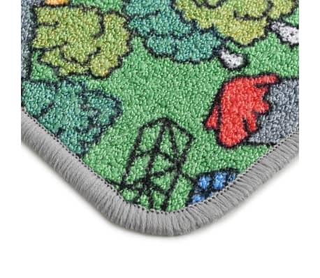 vidaXL Tapis de jeu Poil à boucle 120 x 160 cm Motif route de ville[6/8]