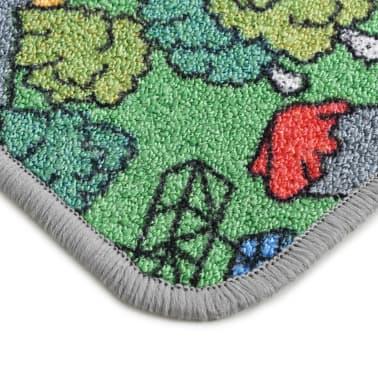 vidaXL Žaidimų kilimėlis, kilp. pūkas, 133x190cm, miesto kelio diz.[6/8]
