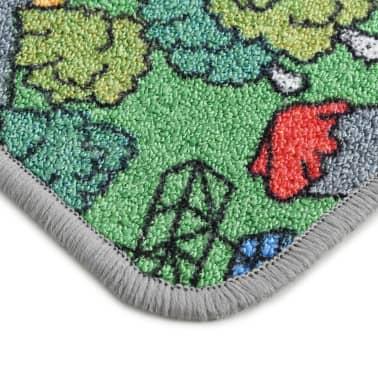 vidaXL Tapis de jeu Poil à boucle 190 x 290 cm Motif de route de ville[6/8]