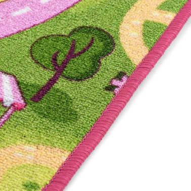 vidaXL Žaidimų kilimėlis, kilp. pūkas, 190x200cm, gražaus miesto diz.[7/8]