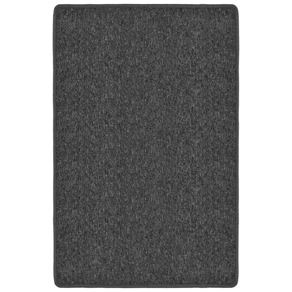 vidaXL Všívaný koberec 120 x 180 cm antracitový